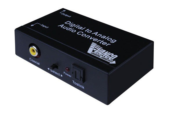 Premium Digital To Analog Audio Converter