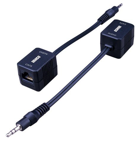 3.5mm Audio Extender Over Cat5e/cat6 Cable