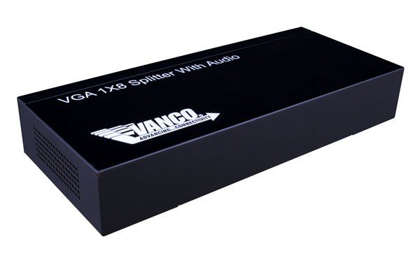 S-VGA 1×8 Splitter with Audio