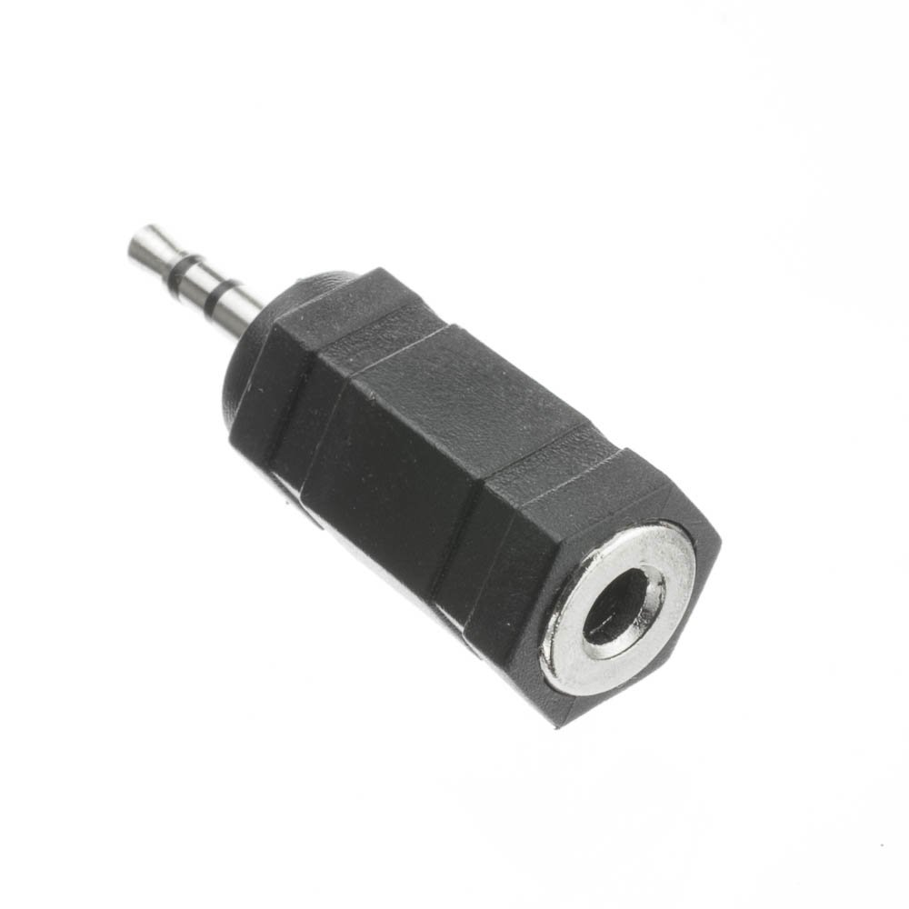 2.5 Mm Stereo Plug To 3.5 Mm Stereo Jack Adapter
