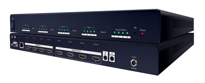 Evolution Hdmi® 4x4 Matrix Selector Switch