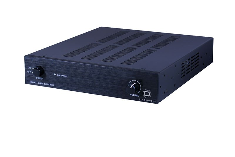 Pulseaudio 2 Channel, Class D Amplifier 150w