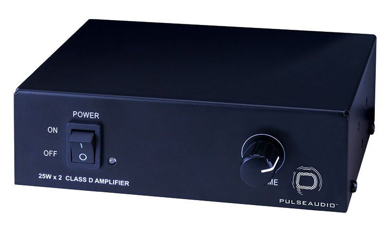 Pulseaudio 2 Channel, Class D Amplifier 25w