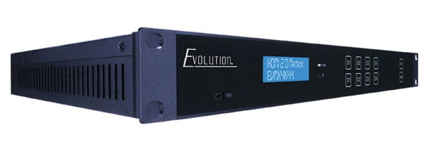 Evolution Hdmi® 4x4 4k Matrix Selector Switch