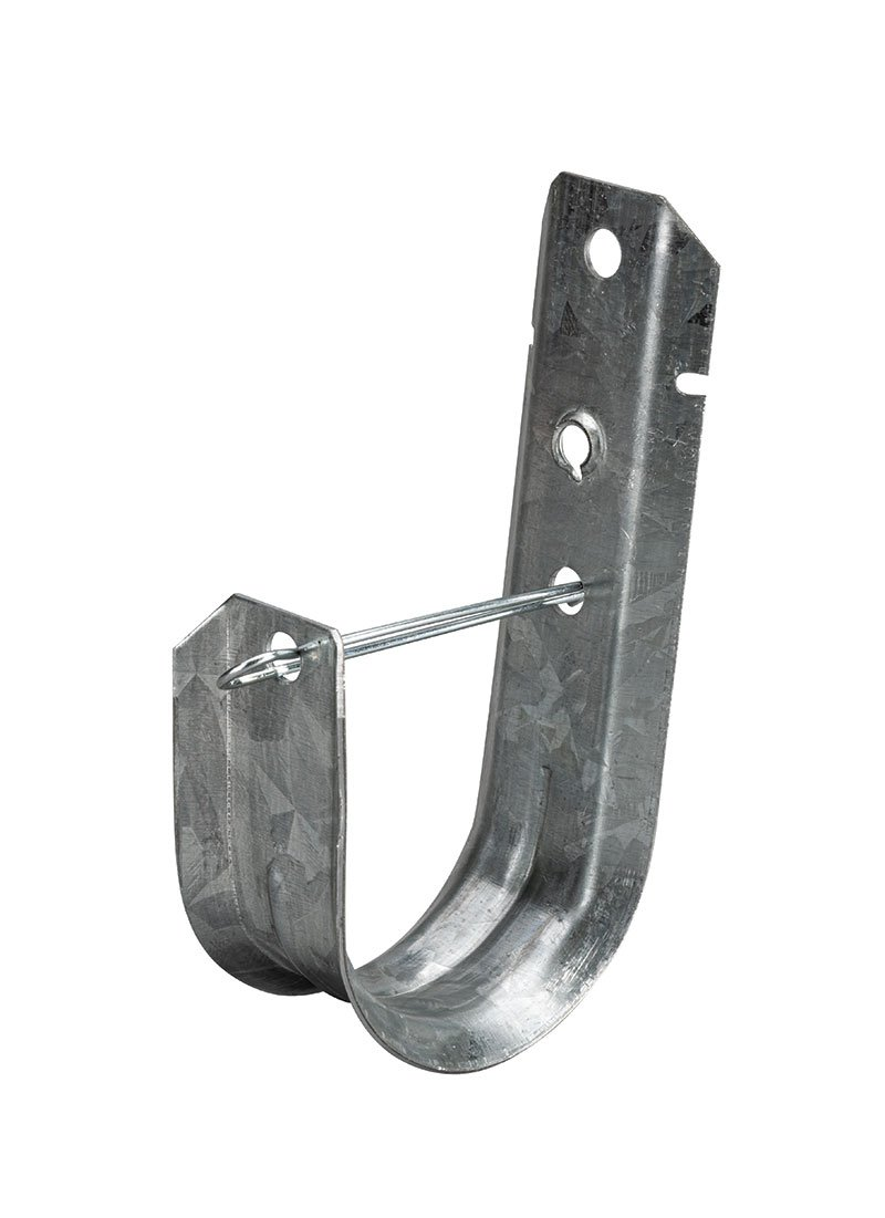 "2"" J Hook Cable Support With Retaining Clip"